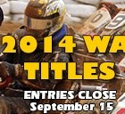 Western Australian title update – 15th September