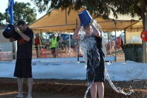 The Bucket Challenge Trent Sharman Images