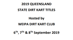 LIVE NOMINATIONS – QLD TITLE 2019