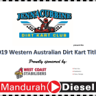 Live Nominations for 2019 WA Title